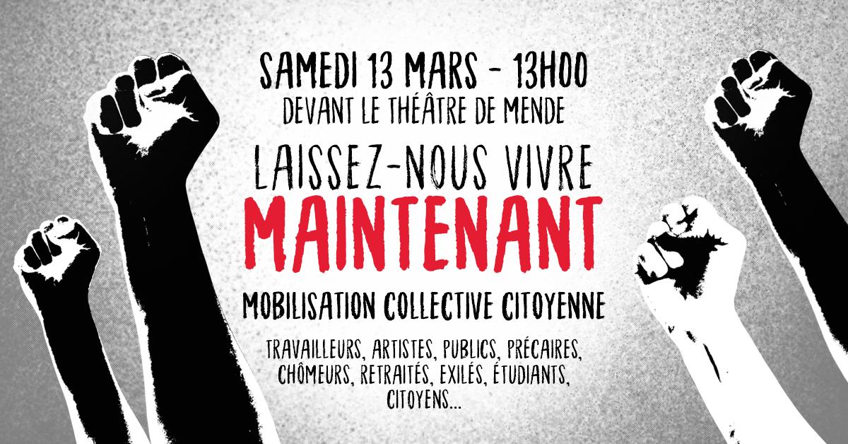 ★ Mobilisation Collective Citoyenne – Samedi 13 mars à 13h à Mende ★