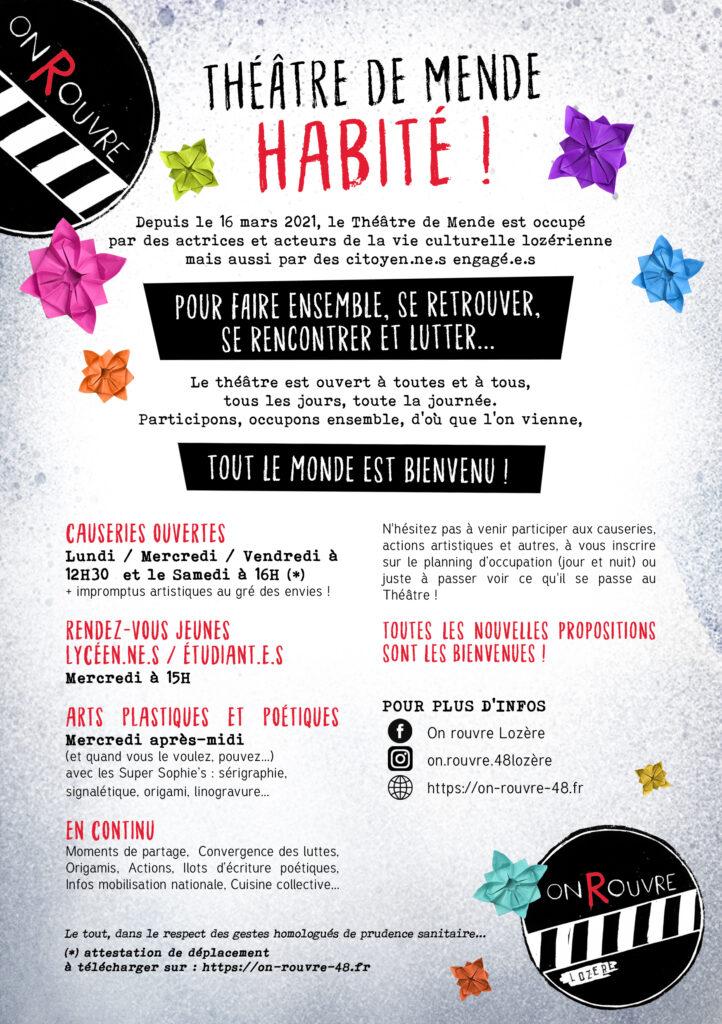 ★ Théâtre de Mende habité ★